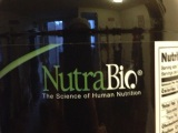 A big thank you to NutraBio for thedonation!