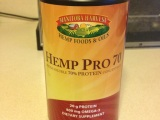 Eighth Official Product Review EVER: HEMP PRO 70