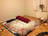 I did it. I moved out. OR Whatever. I'll sleep next week, but actually I could really use anap.