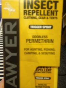 Be careful not to get this on your skin. It can kill ticks. Not even a well-placed hammer kills ticks. Enough said.