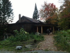 I stayed at Dharma Door Retreat, a health retreat located in Underhill Vermont that specializes in yoga, massage, bodywork, authentic movement, acrobatic and circus yoga, contact improvisation dance and gourmet-localvore cooking.
