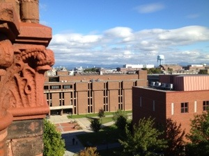 I figured I might as well show you some pictures from my trip to Vermont on my way south after finishing the A.T. This is a picture from a building at UVM.
